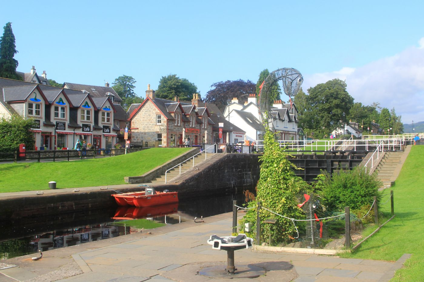 La Scozia occidentale fra Lowlands e Highlands - Fort Augustus - Caledonian Canal